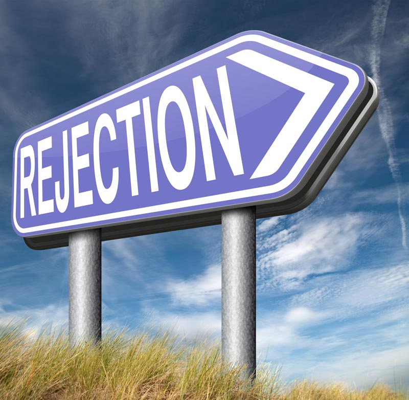 CV rejection
