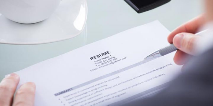 10 quick but important CV writing tips