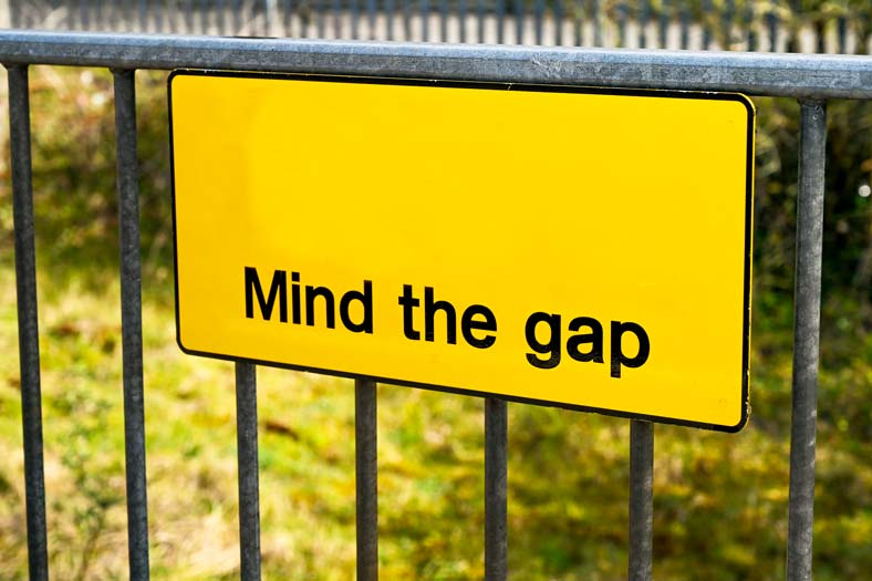 Mind the employment gap